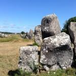 Menhire in Carnac