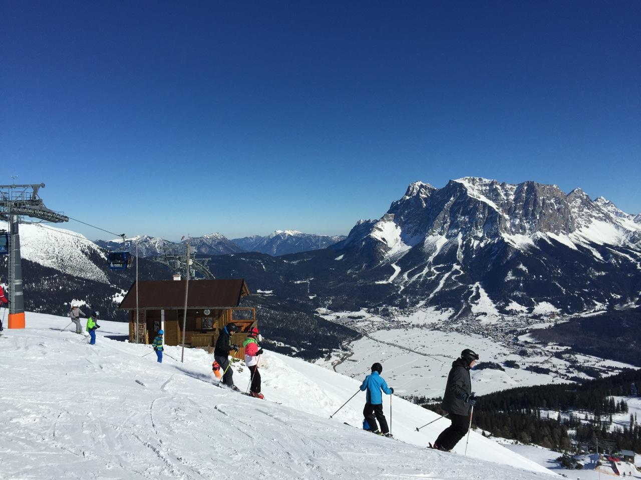 <strike>3</strike> Nur 2 x Kölle Alaaf (Ski fahren 2015)