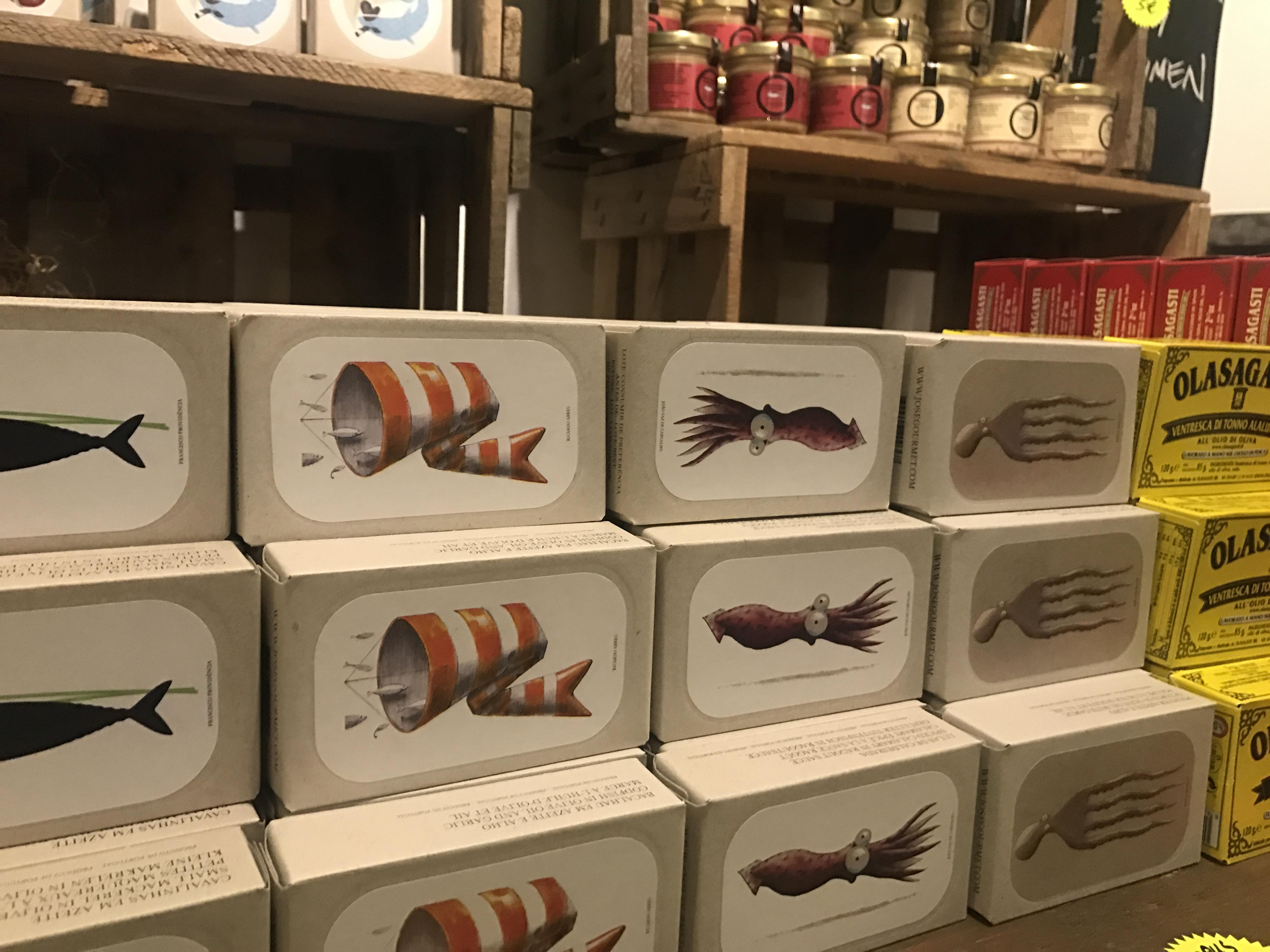 Sin Tin - es gibt Dosenfisch!